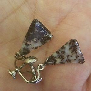 PM 329 vintage screwback earrings